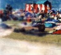 altered photograph, 14.7 x 16.2 cm