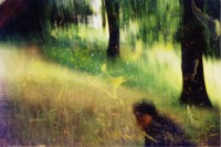 altered photograph, 13 x 20 cm